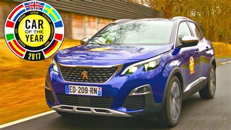 peugeot car of the year car of the year 2017 vince peugeot 3008 carpedia