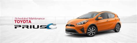 Toyota Service Schedule by Toyota Prius C Scheduled Maintenance South Dade Toyota