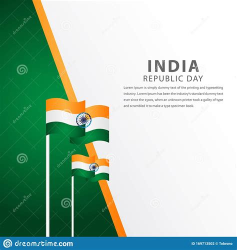 Happy India Independence Day Celebration Vector Template ...