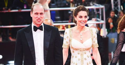 BAFTAs 2020 Red Carpet: Prince William and Kate Middleton ...