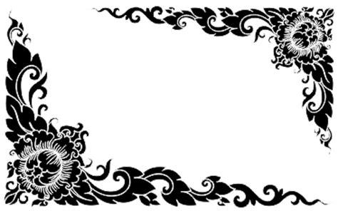 border hitam putih joy studio design gallery  design