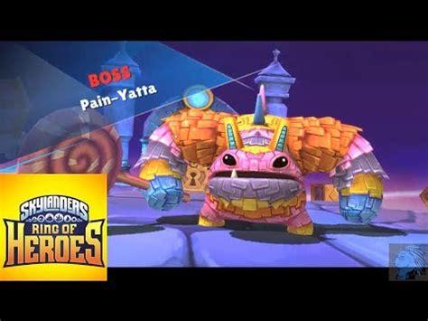 Skylanders Ring Of Heroes Pain Yatta