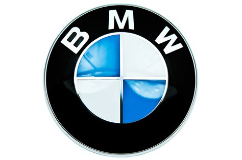 logo bmw bmw genuine front roundel emblem badge bonnet hood 82mm