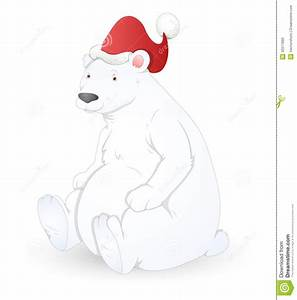 Polar Bear - Christmas Vector Illustration Royalty Free ...