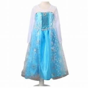 image vetements robe enfant elsa la reine des neiges With robe la reine des neiges