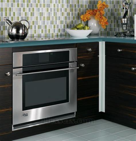 monogram zetsmss  single electric wall oven   cu ft reverse aireuropean convection