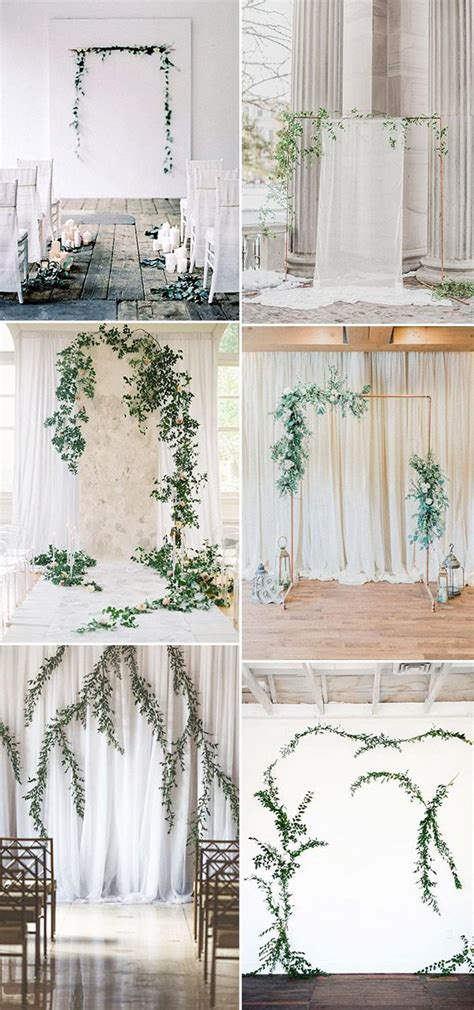 Wedding Decoration Minimalist by Simple Chic Organic Minimalist Weddings Ideas For Non
