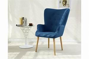 Fauteuil Bleu Scandinave : fauteuil scandinave bleu dorig design sur sofactory ~ Teatrodelosmanantiales.com Idées de Décoration