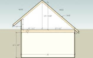 saltbox garage roof frame framing contractor talk