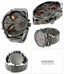 Montre Homme Diesel 2016 : diesel dz7315 montre acier diesel homme noir quartz rond ~ Maxctalentgroup.com Avis de Voitures