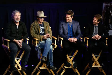 johnny depp promotes lone ranger at cinemacon photos the live well network