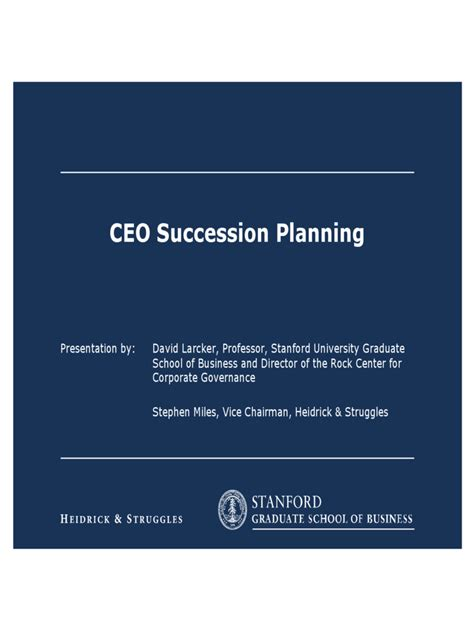 Ceo Succession Planning Template by Succession Planning 5 Free Templates In Pdf Word Excel