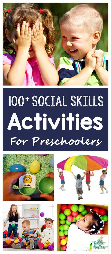 100 social skills activities for pre schoolers best of 818 | 0ca8635becd843e6a016151a3c88287c