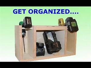 Drill Storage and Charging Station - YouTube