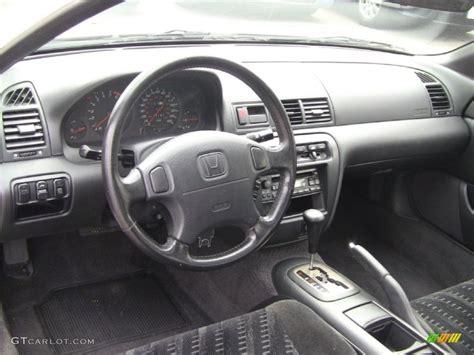Black Interior 2001 Honda Prelude Standard Prelude Model