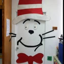 cat in the hat decorations dr seuss door decoration contest parish day school
