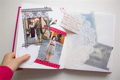 fotoalbum selbst gestalten ideen wie bastelt eigentlich ein scrapbook eine kleine anleitung ideensammlung kreativlabor