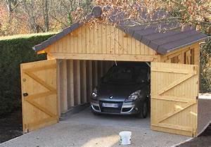 cout garage ossature bois myqtocom With cout d un garage en bois