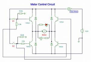 Dc Motor Control Circuit Circuit Diagram And Instructions