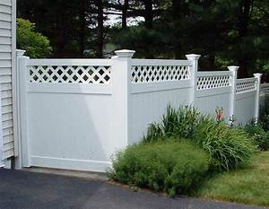 55 Lattice Fence Design Ideas (Pictures of Popular Types