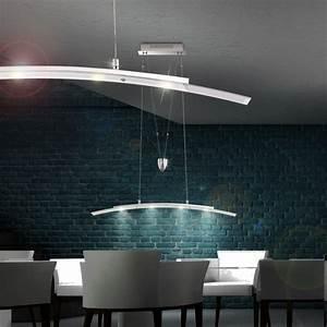 Esszimmer Lampe Led : led h nge decken pendel lampen esszimmer leuchten h henverstellbar warm weiss ebay ~ Markanthonyermac.com Haus und Dekorationen