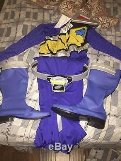 power ranger dino charge blue cosplay costume