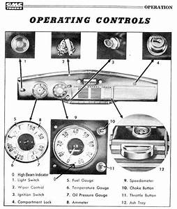Chevy And Gmc Advanced Design Dash Control Layout