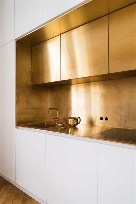 bras interieur 25 trendy metal kitchen backsplashes to try digsdigs