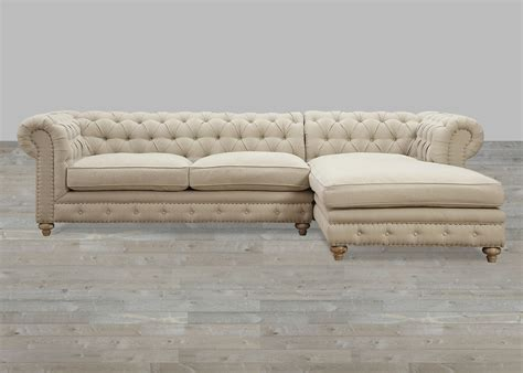 Sectional Sofa With Nailhead Trim Elliston Place Huntley