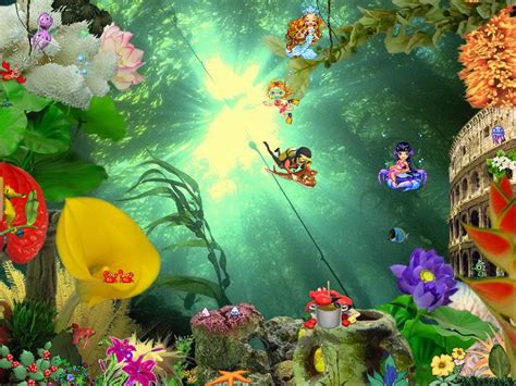 Free Animated Screensavers And Wallpaper - animated aquaworld free aquarium screensaver