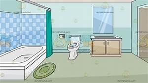 a house bathroom background vector clip art cartoon With bathroom cartoon pictures