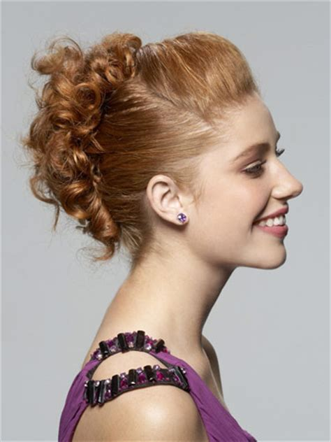Curly Updo Hairstyles by Hairstyles For Curly Hair Curly Hair Updos