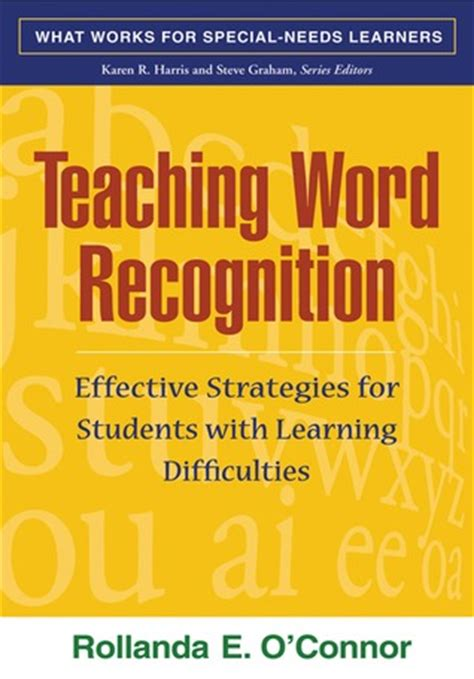 teaching word recognition  edition effective