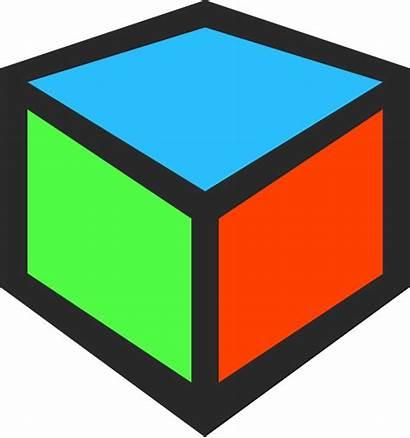 Cube 3d Clipart Icon Clip Square Cliparts