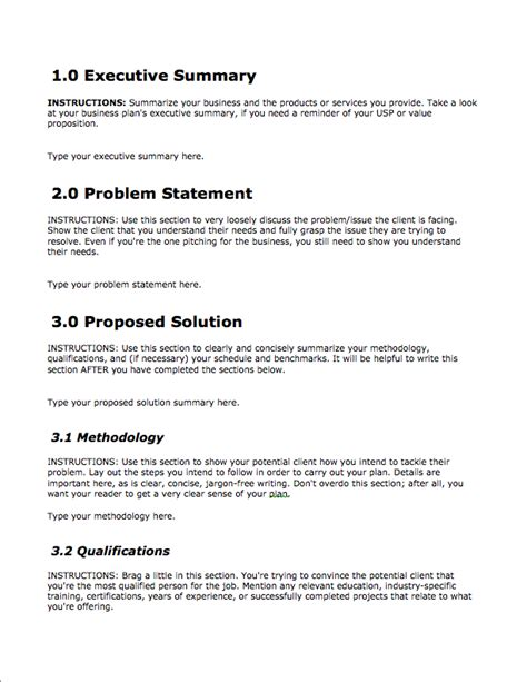 writing a business plan template business template free bplans