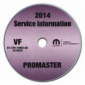 2014 Ram Promaster Repair Shop Manual Cd