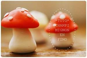 Tuto Pate Fimo : tuto champignon en fimo fimo fimo diy crafts ~ Dode.kayakingforconservation.com Idées de Décoration