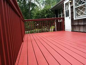 amazing solid deck stain doherty house awesome solid With barn red deck paint