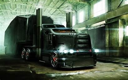 Semi Truck Backgrounds Pixelstalk