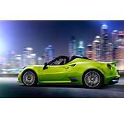 Alfa Romeo 4C Lime Wallpaper  HD Car Wallpapers ID 5766