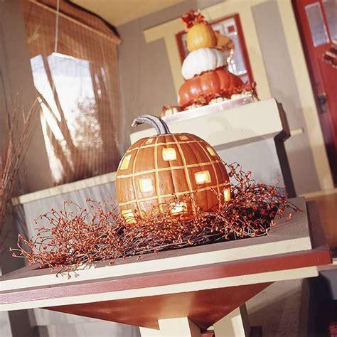 Kuerbis Dekorationsideenhalloween Dekoration Im Wohnzimmer by Herbst Deko Ideen Mit K 252 Rbissen 37 Beispiele