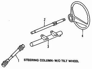 Volkswagen Fox Shaft  Steer Column   Lower   Lower  Manual