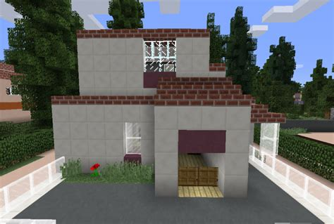 minecraft quartz house suburban quartz house 8 grabcraft your number one