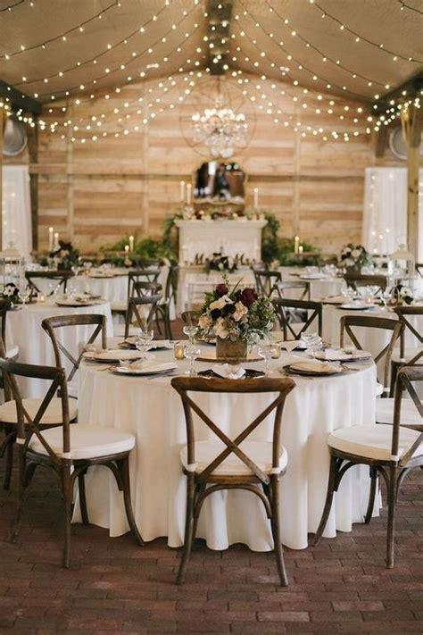 chic rustic barn wedding reception ideas wedding