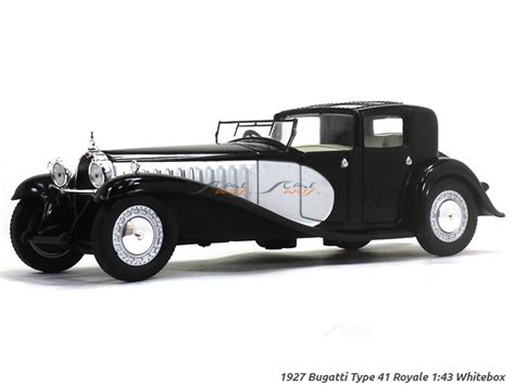 Great savings & free delivery / collection on many items. 1927 Bugatti Type 41 Royale 1:43 Whitebox diecast Scale Model Car | Scale Arts India