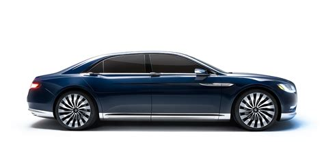 Lincoln Continental Prototype by 2015 Lincoln Continental Concept Drive