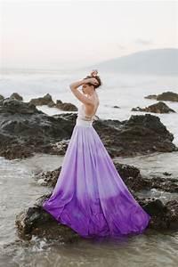 Awesome Purple Wedding Dresses