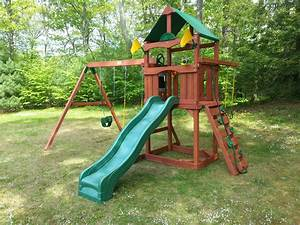 Plastic Outdoor Swing And Slide Sets - Outdoor Designs