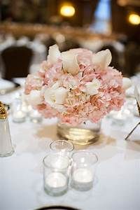 Club Party Invitations Pink Hydrangea Centerpieces