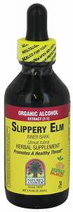 Slippery Elm Inner Bark Extract Supplement In 60ml From Nature U0026 39 S Answer